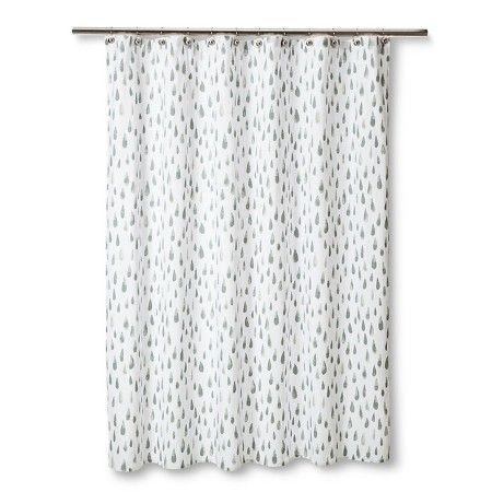 Watercolor Shower Curtain - Nate Berkus™ : Target
