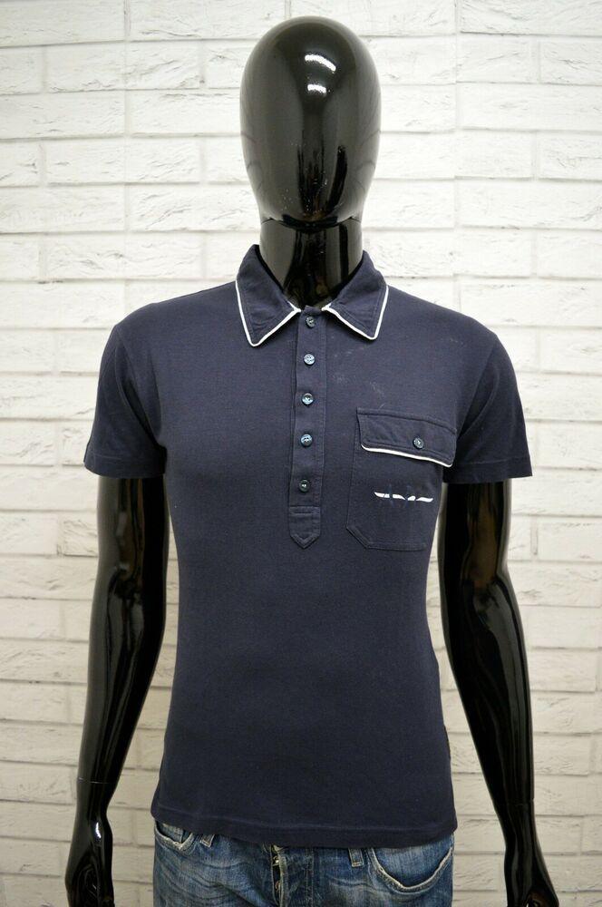 quality design 326d0 3a6b9 Polo Uomo ARMANI JEANS Taglia Size M Maglia Maglietta ...