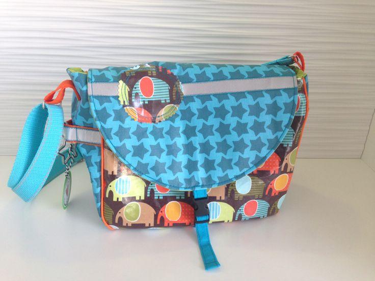 Kindergartentasche Janibag von kibadoo aus beschichteten Baumwollstoffen