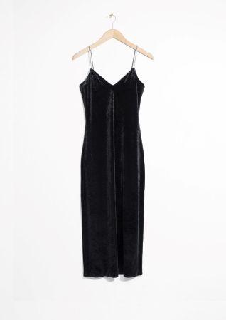 & Other Stories | Bodycon Dress With Rhinestone Straps