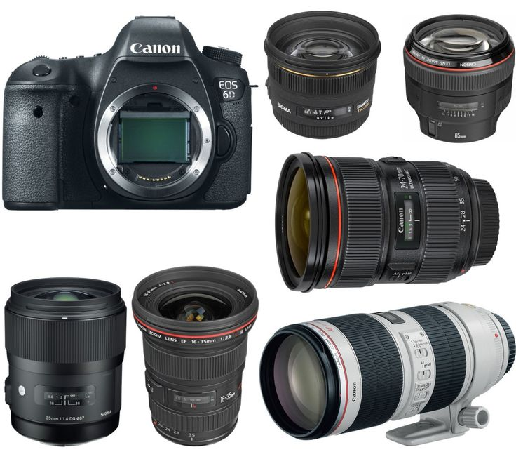 Canon EOS 6D is an entry-level full frame DSLR announced in 2012. Compared to 5D Mark III, 6D is much cheaper. Here are several recommended lenses for this