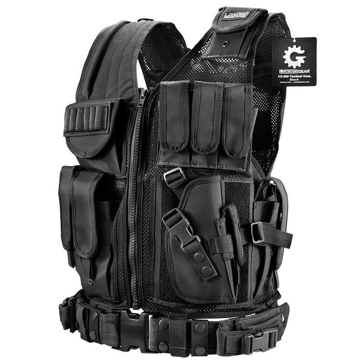 BI12018 Loaded Gear VX-200 Tactical Vest, Right Hand - Tactical Vests VX Series
