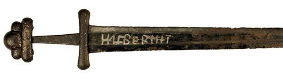 """A 10th-century double-edged sword inscribed with the name """"Ulfberht"""""""