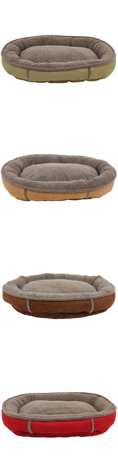 Beds 20744: Carolina Pet Co. Comfy Cup Faux Suede Round Bolster Dog Bed BUY IT NOW ONLY: $98.59