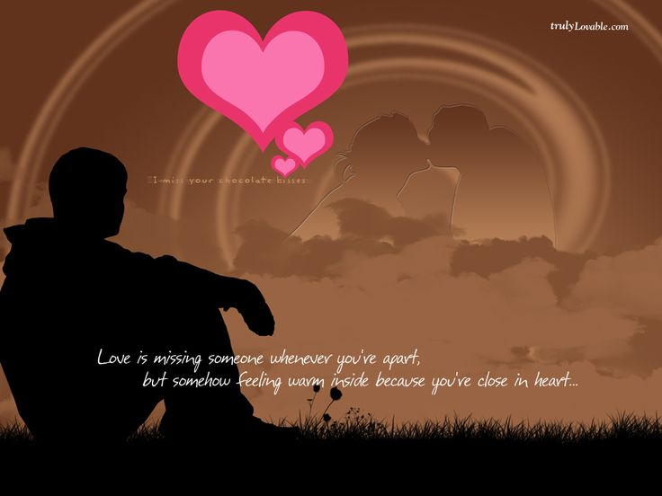 Short Love Quotes Romantic Ideas For Valentines Day For Him. Love Is  Missing Someone Whenever