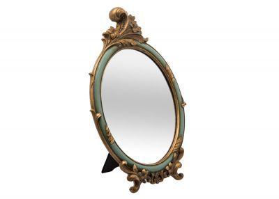 Royal Ayna K18D002S Antik Mavi-Altın  #homesweethome #içtasarımı #zarif#şık#lüks #estetikgörünüm#livinroom #yaşamalanı#şıkev#ayna
