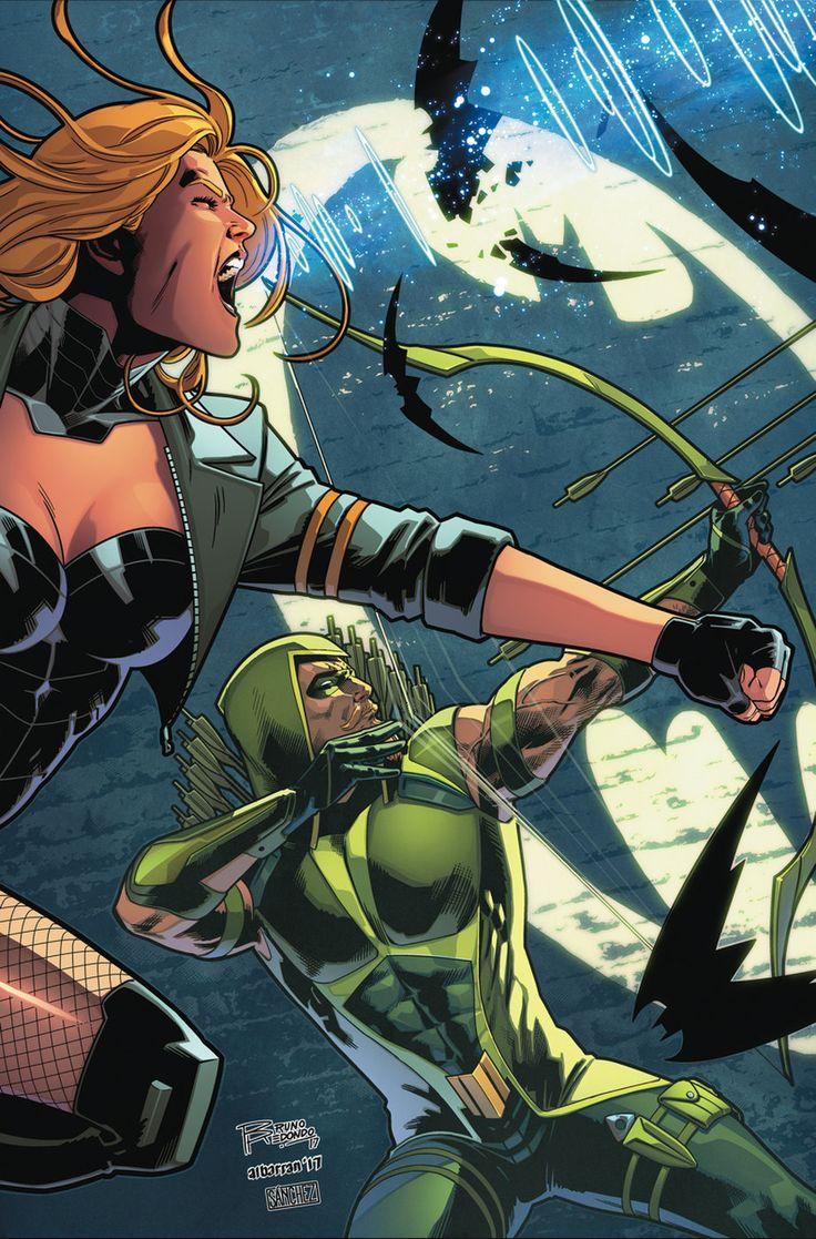 Green Arrow & Black Canary by BRUNO REDONDO