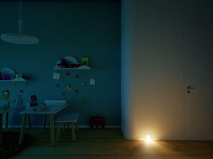 Contemporary Private Apartment - Hungary / children's room, night lite