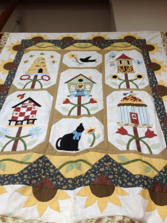 Our latest block of the month, sign up at Annie's Quilt Shoppe.com