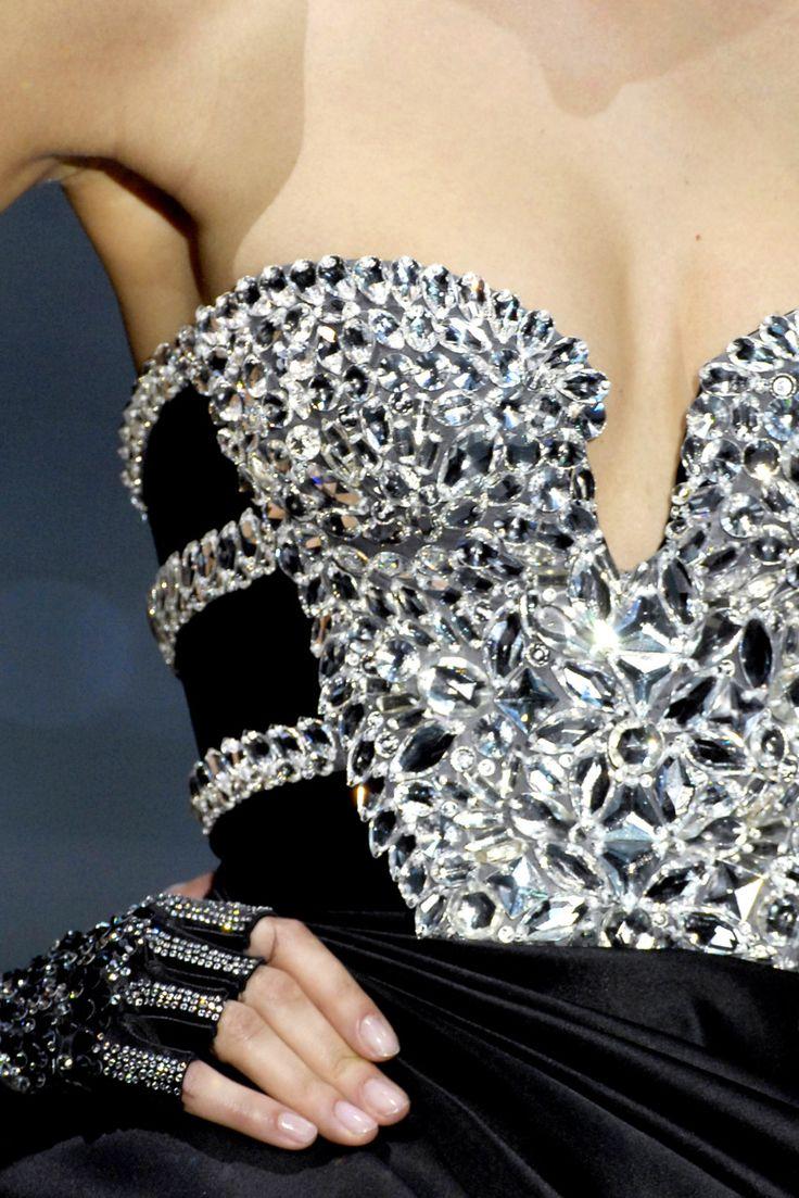 Rosamaria G Frangini   Black & Silver Desire   Armani Prive