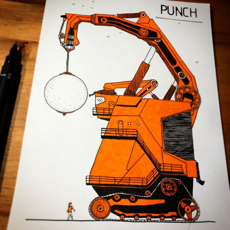 Demolition machine. Check Tiny Machinery Instagram for daily stuff :)