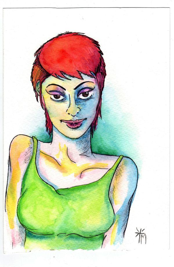 Acuarela by Marcela Cifuentes, via Behance