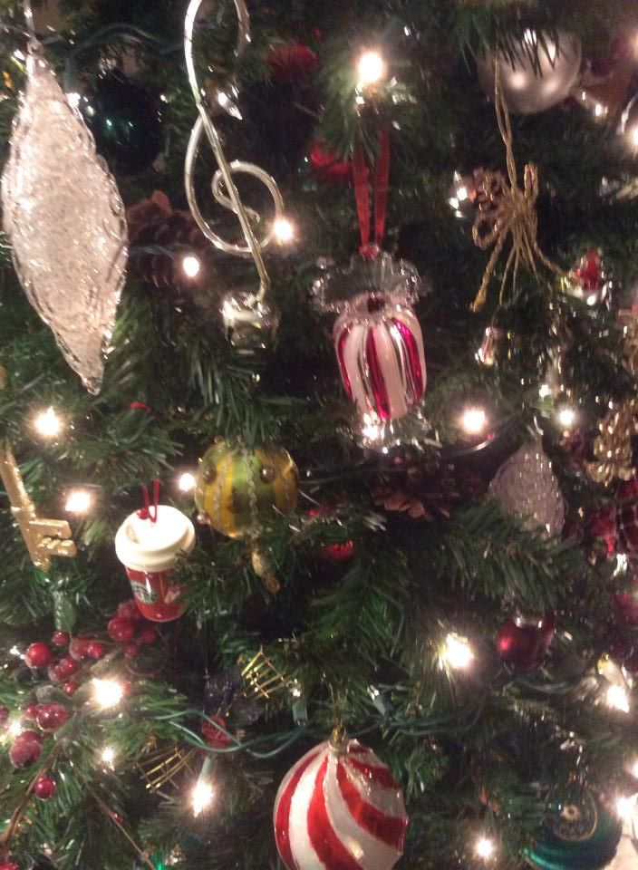 33 best my themed christmas trees images on pinterest for Red green gold white christmas tree