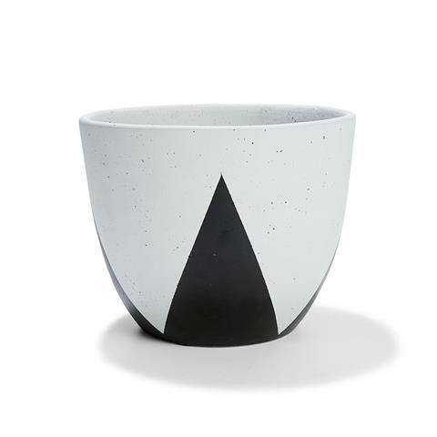 Triangle Cache Pot - Black/White | Kmart