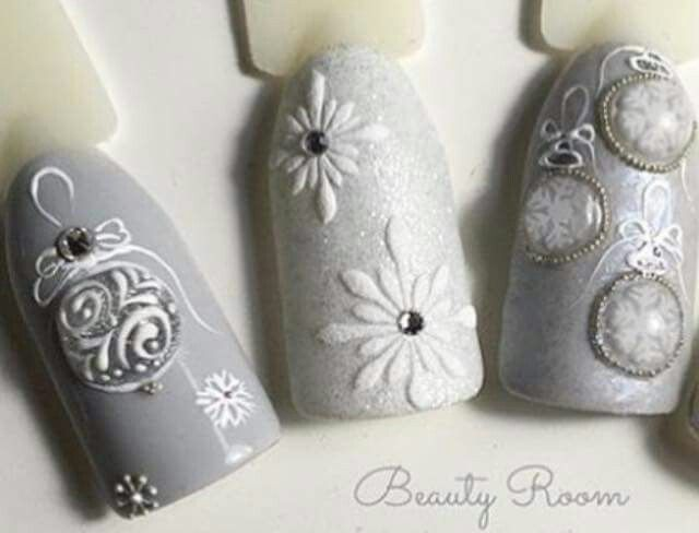 Winter ornaments - so cute and delicate