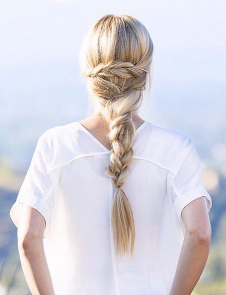 We are loving this beautiful braid @blueeyedfinch created with her Ash Blonde Luxy Hair extensions!   Photo By: https://instagram.com/p/5I_12ukGcw/?taken-by=blueeyedfinch  #SummerBraids #SummerHairstyles #LuxyHair