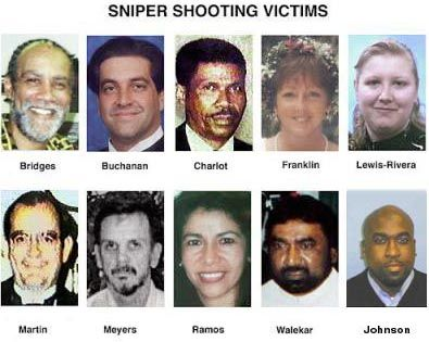 October 2 The Beltway Sniper Attacks Begin With 5