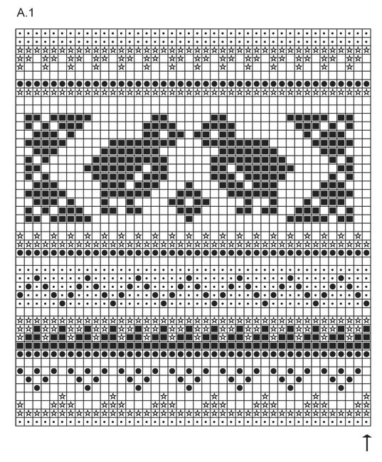 "Kitchen Chicks - DROPS Easter: Knitted DROPS pot holders with chicken pattern in ""Paris"". - Free pattern by DROPS Design"