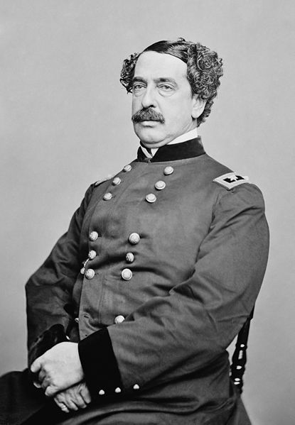 Abner Doubleday (June 26, 1819 – January 26, 1893) was a career US Army officer & Union general in the American Civil War. He fired the first shot in defense of Fort Sumter, the opening battle of the war, & had a pivotal role in the early fighting at the Battle of Gettysburg…his finest hour. In San Francisco, after the war, he obtained a patent on the cable car railway that still runs there. Doubleday is mistakenly credited with inventing baseball.