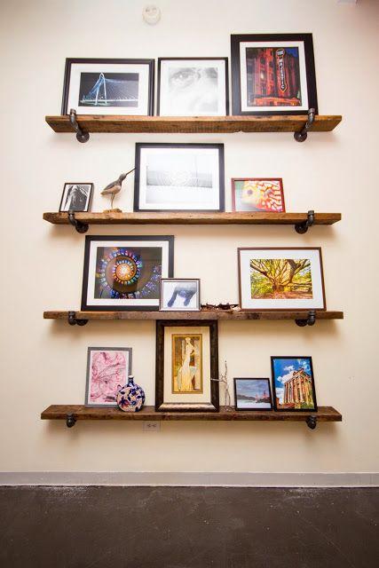 Adventures in DIY Home Improvement-Reclaimed Wood Shelves