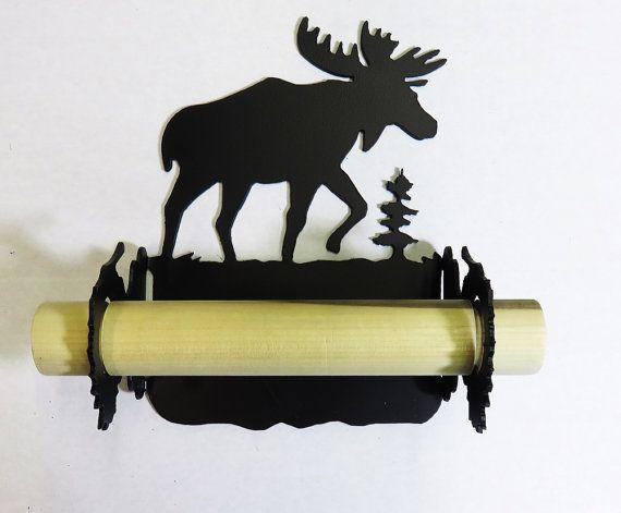 bull moose toilet paper holder