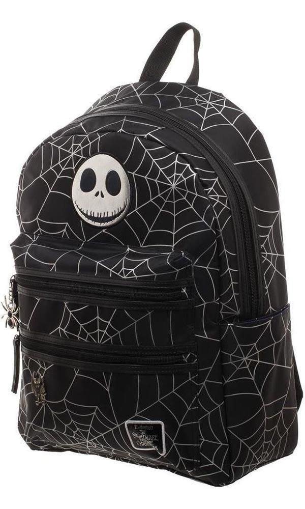 Hot Topic Nightmare Before Christmas Backpack.The Nightmare Before Christmas Jack Spider Backpack