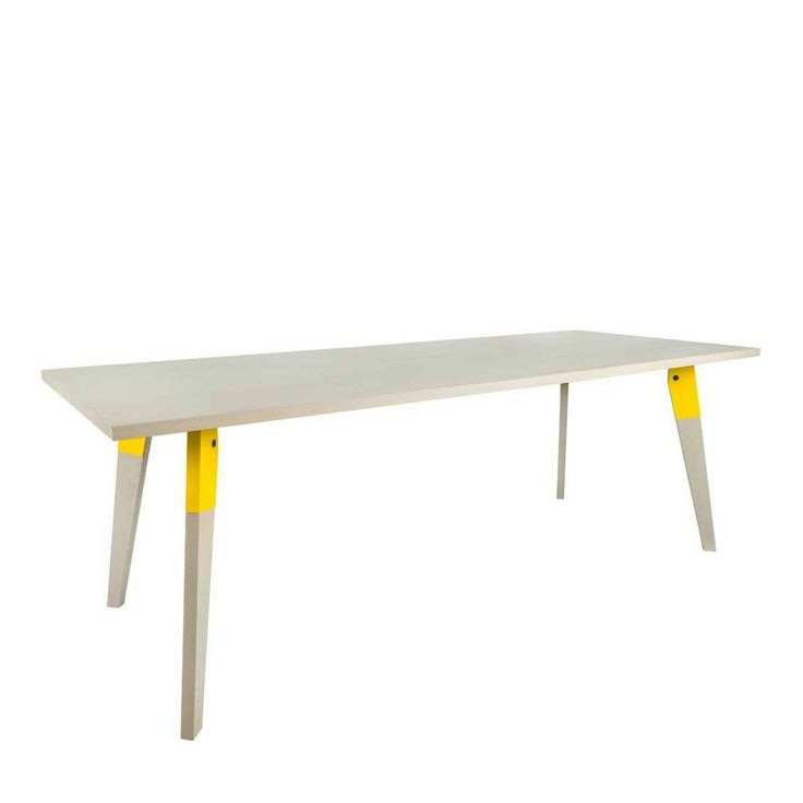 Like this table!! Van Ruijg Bolted design