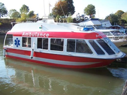 For emergency medical situations in the water, ambulance boats can save lives. These ambulance boats are equipped to take care of patients on the way to a medical facility.