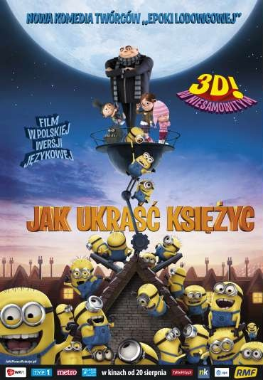 Despicable Me (Jak ukraść Księżyc) (2010) #Animation #Comedy