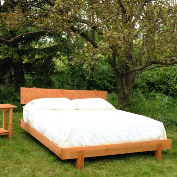Cherry Enso Bed Queen size by TYFineFurniture on Etsy, $1499.00