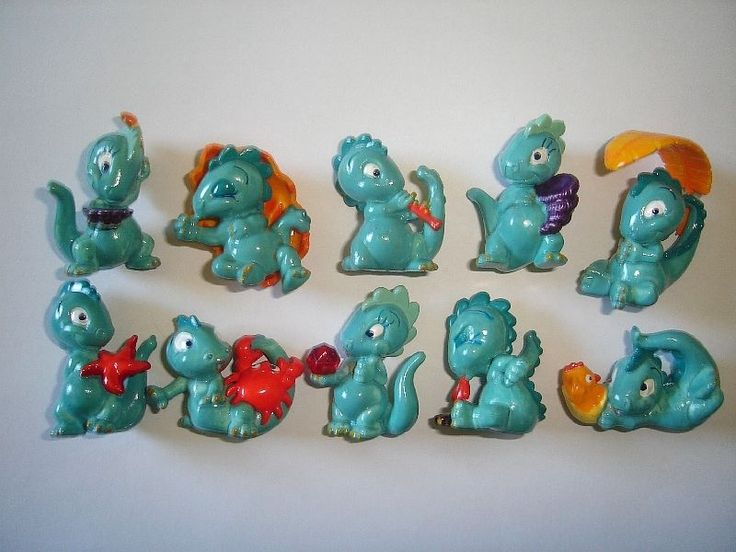 Kinder Surprise Set Drolly Dinos Dinosaurs 1993 Figures Collectibles   eBay