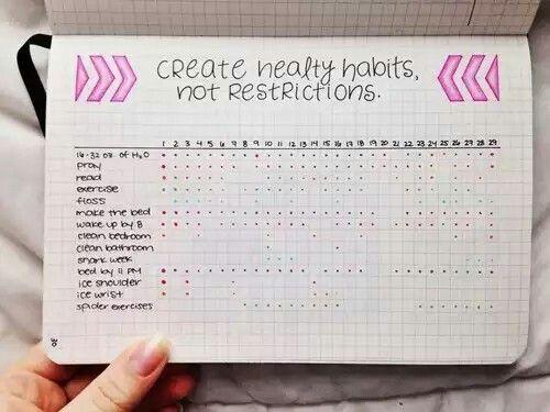 Healthy habits-Calendario