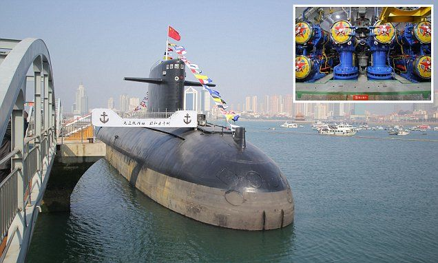 China turns nuclear submarine into a museum #DailyMail