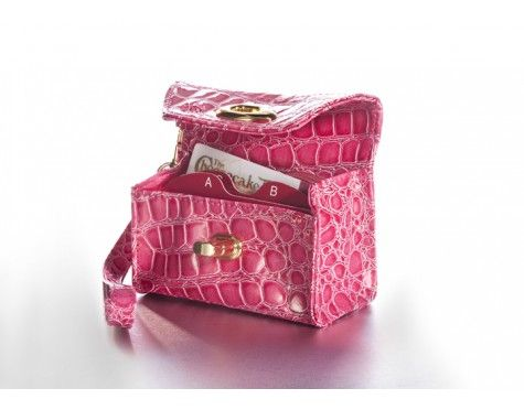 Card Cubby Tickled Pink Croc Wristee | Tickled Pink | Pinterest | Pink ...