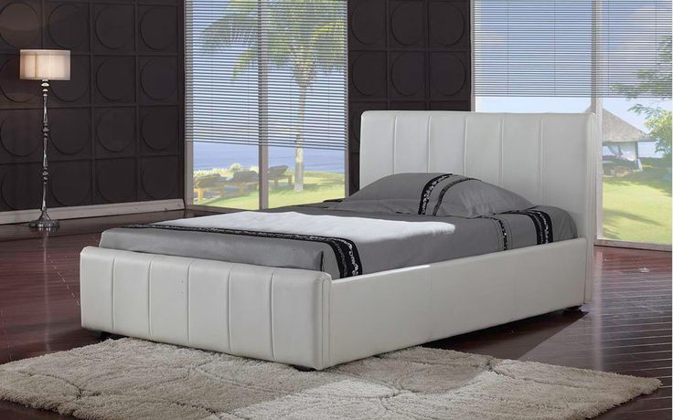 Mattress Online Ltd Pisa Faux Leather Bedstead, Double, No Mattress Double Pisa Faux Leather Bed in White, Black, or Chocolate Brown http://www.comparestoreprices.co.uk/bedsteads/mattress-online-ltd-pisa-faux-leather-bedstead-double-no-mattress.asp