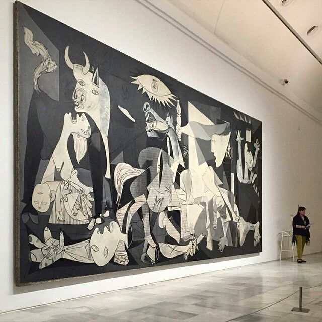 Pablo Picasso. Guernica. 1937. Oil on canvas. 137.4 in x 305.5 in. Museo Reina Sofia. Madrid, Spain.