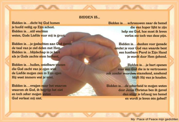 Afbeeldingsresultaat voor gedicht over bidden