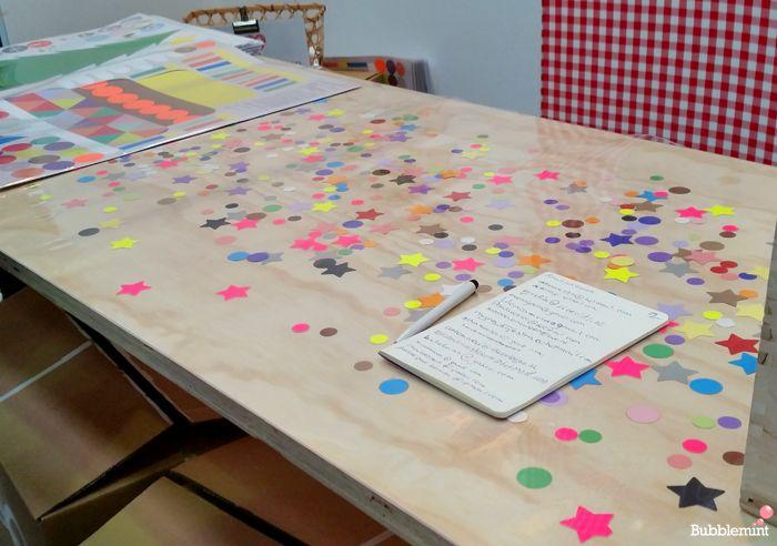 Met confetti onder je Tafelziel krijg je meteen een heel vrolijke tafel!