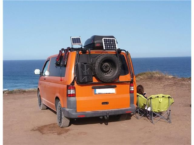 volkswagen t5 transporter-7ha172-wf2 orange - 5