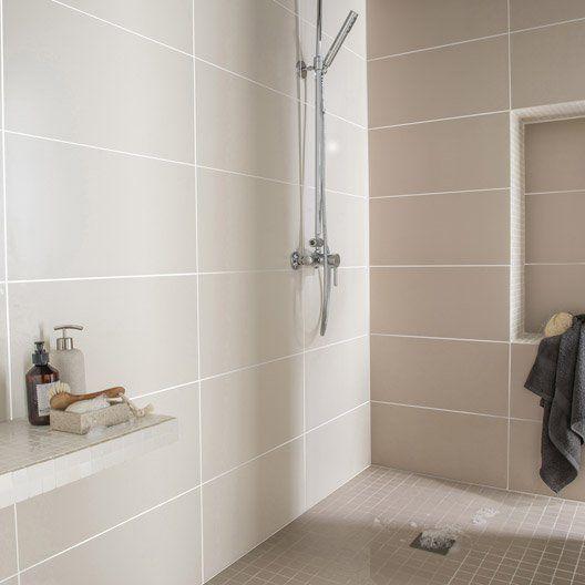 faience mur ivoire purity l 30 x l 60 cm d coration. Black Bedroom Furniture Sets. Home Design Ideas