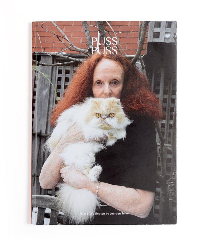 Грейс Коддингтон и ее кошки Пампкин и Бланкет — в пятом номере Puss Puss