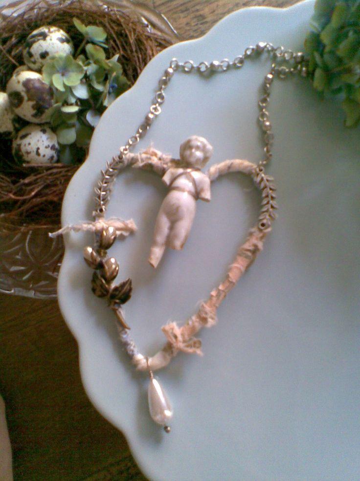 Heart Ornament. SOLD