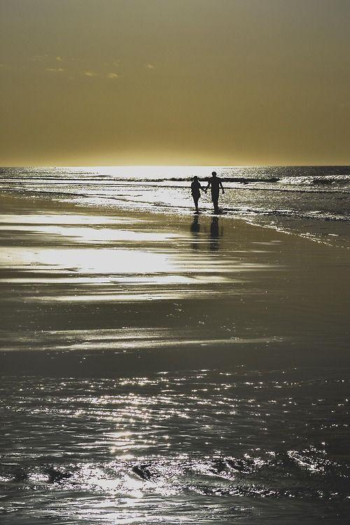 enjoy a walk on the beach...