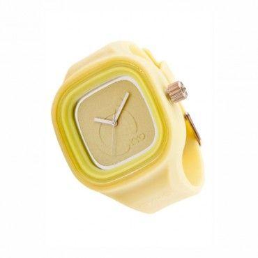 Unisex fashion ρολόι OYYO της συλλογής Juicy Square από σιλικόνη και πλαστικό. Εγγύηση 2 ετών της επίσημης αντιπροσωπείας. ST-JC-2004 #Oyyo #κιτρινο #σιλικονη #unisex #ρολοι