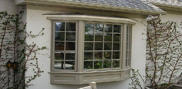 Simple Bay Window Exterior Pictures with Home Design Planning with Bay Window Exterior Images