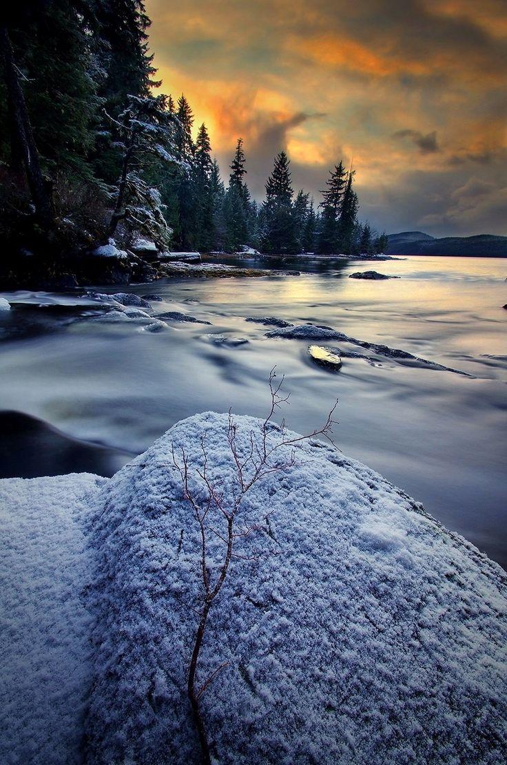 The Sound of Winter, Ketchikan, Alaska, USA.