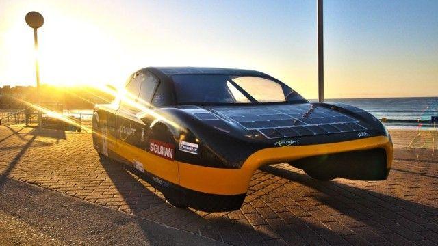 Conheça o carro de corrida movido a energia solar - Notícias - Instituto de Engenharia