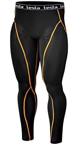 [Tesla] New Men's Compression Tights Under Leggings Base Layer Gear Wear Pants