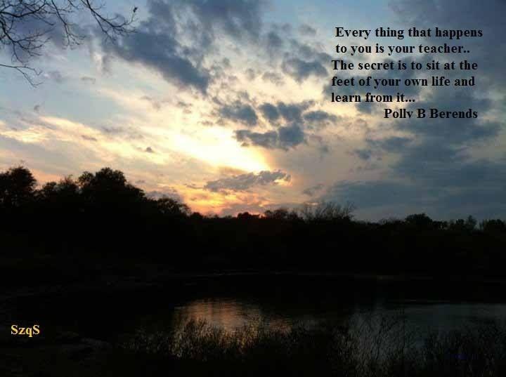 Ft Gibson Lake at sunset...