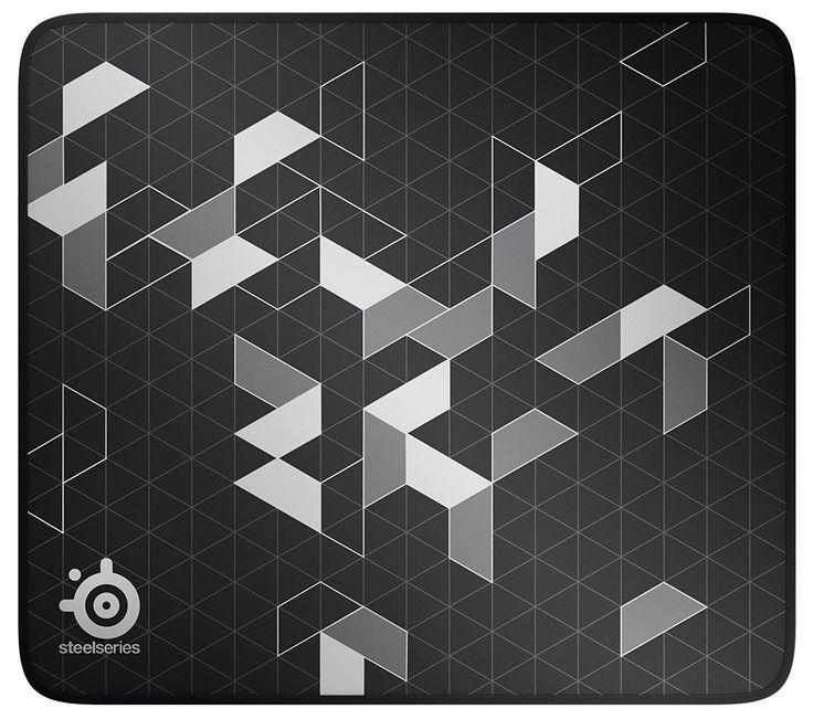 Steelseries Qck Limited Gaming Mousepad Steelseries Sensor Black Silver